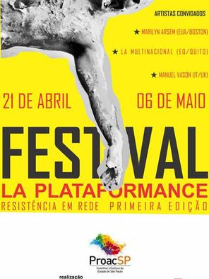Festival La Plataformance | Produtor