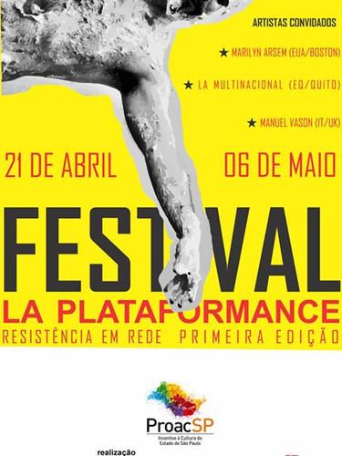 Festival La Plataformance   Produtor