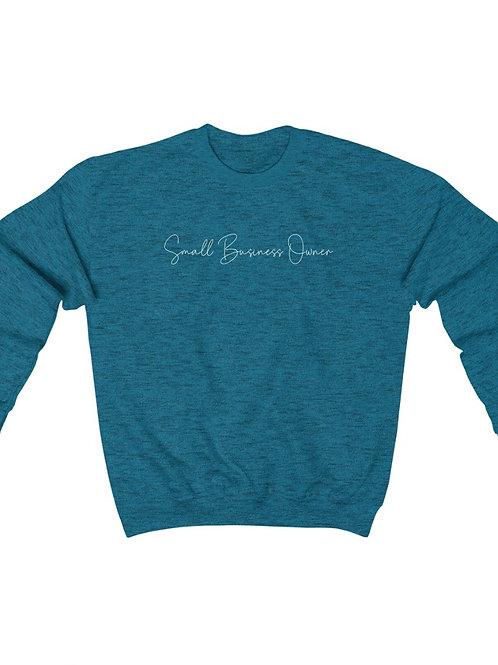 Small Business Owner / Unisex Crewneck Sweatshirt