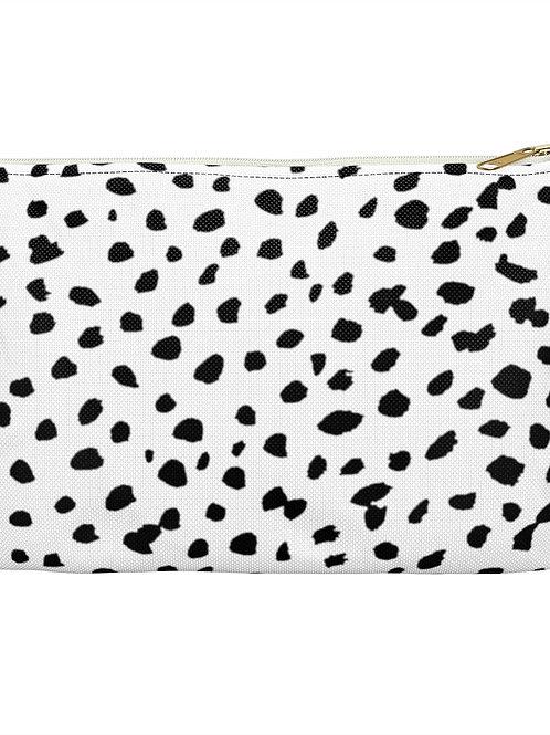 Dalmatian Print / Accessory Pouch