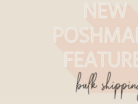 Poshmark's Bulk Shipping Feature is Here... FINALLY!