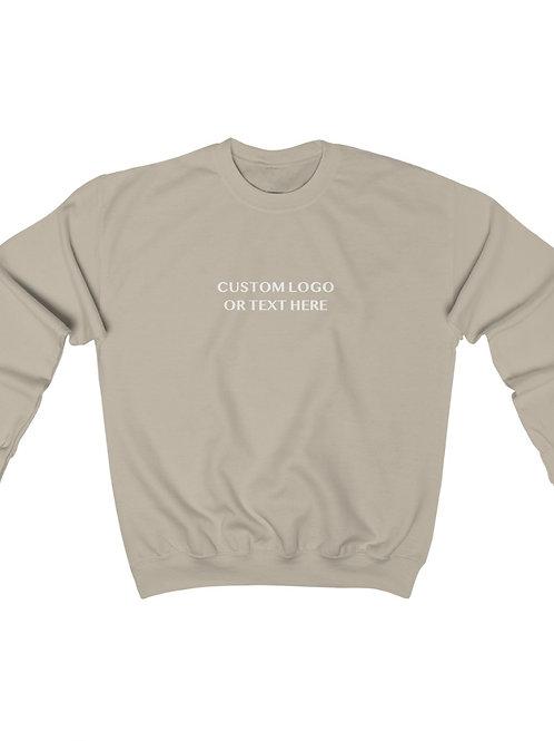 Custom Text Crewneck