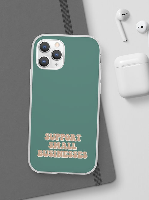 support small businesses / phone case