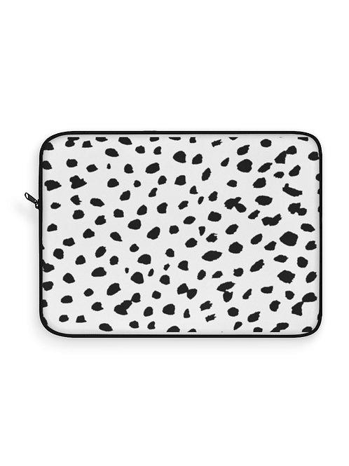Dalmatian print / Laptop Sleeve