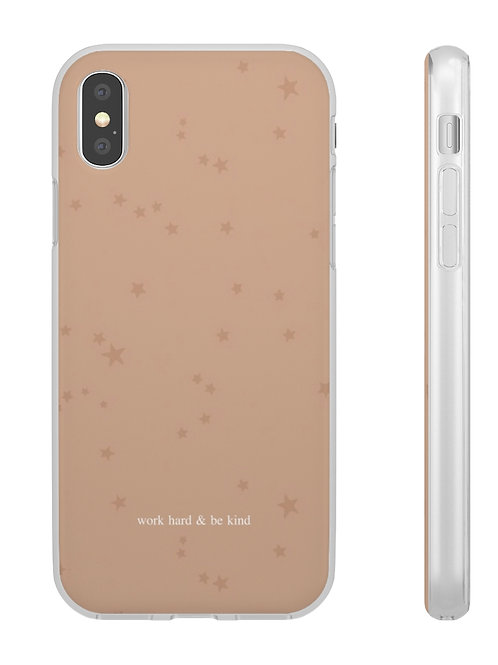 work hard & be kind / phone case