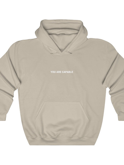 You Are Capable   Positive Affirmations Hoodie