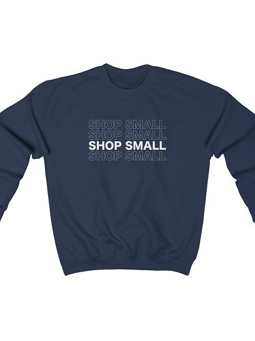 shop small / crewneck sweatshirt