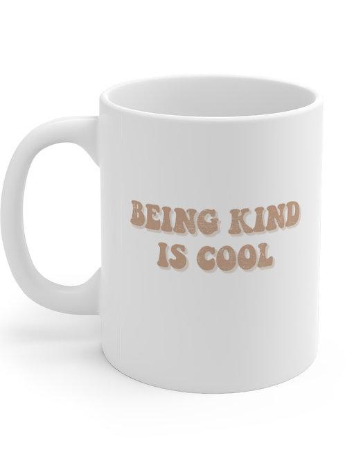 being kind is cool mug