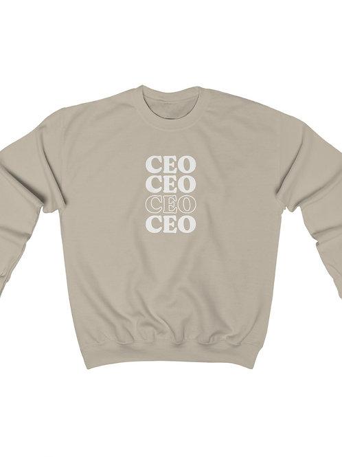 CEO crewneck
