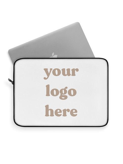 custom logo laptop sleeve
