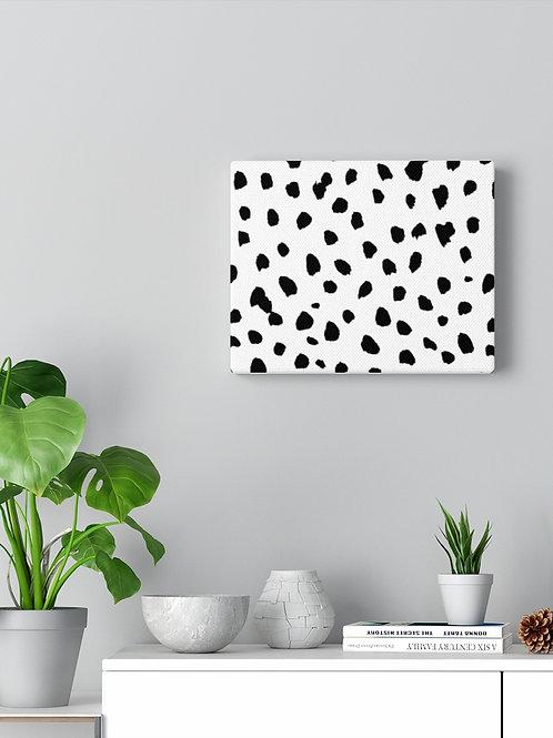 Dalmatian print / Canvas Gallery Wraps Home Decor