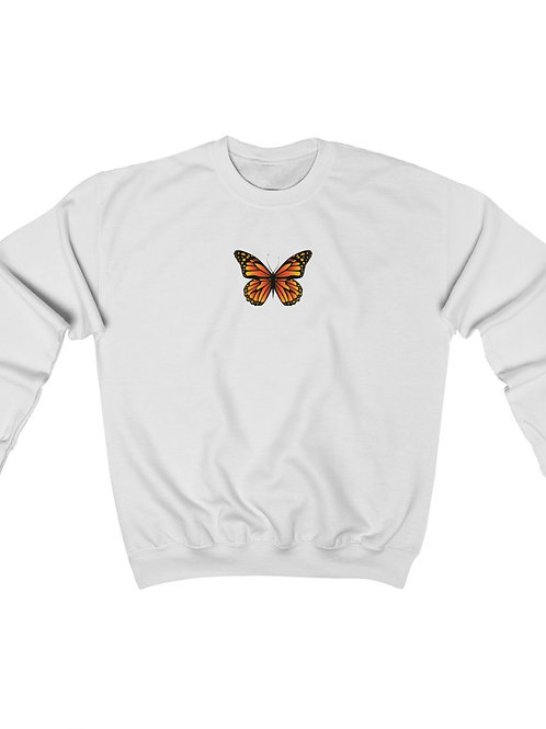 butterfly / Unisex Heavy Blend Crewneck Sweatshirt