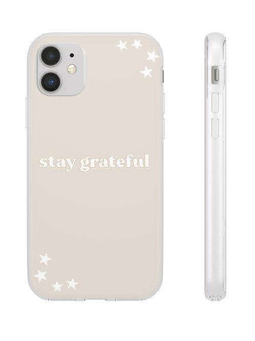 stay grateful / flexi smartphone case