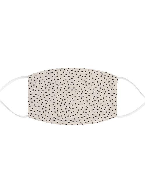 dalmatian print face mask