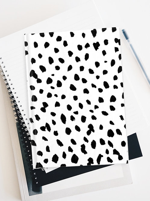Dalmatian Print Journal Blank Pages / Stationary