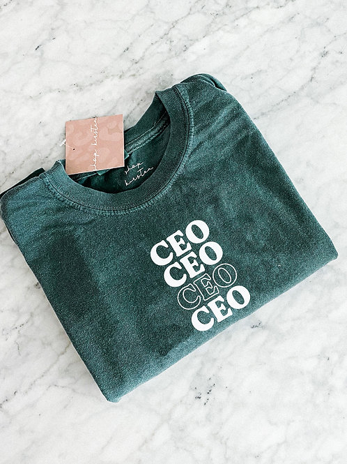 CEO tee / comfort colors