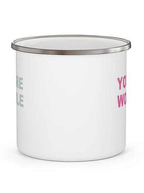 you are capable   campfire mug