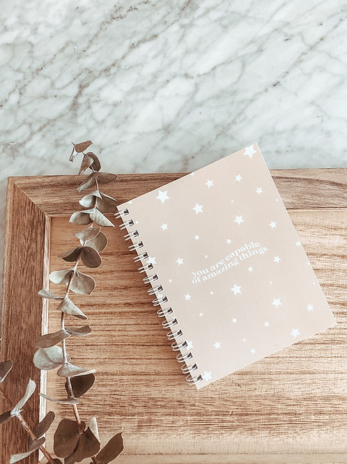 you are capable / notebook