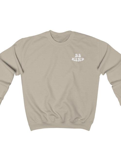 be kind / crewneck sweatshirt