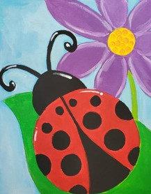 Lady Bug Art kit
