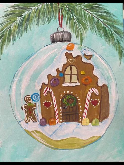 Snow Ornament Art Kit