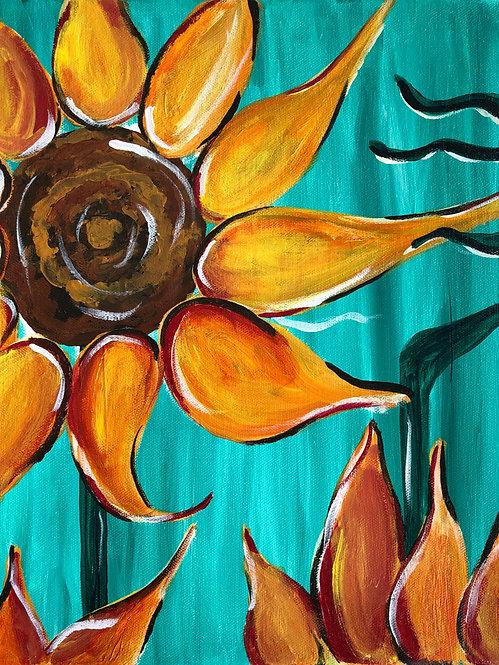 Sunflowers  (Painting Kit)