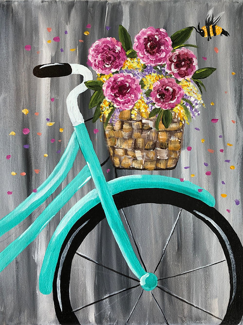 Bicycle Fun (Painting Kit)
