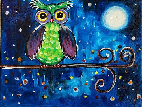 Night Owl (Painting Kit)