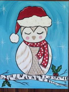 Christmas Owl Art Kit