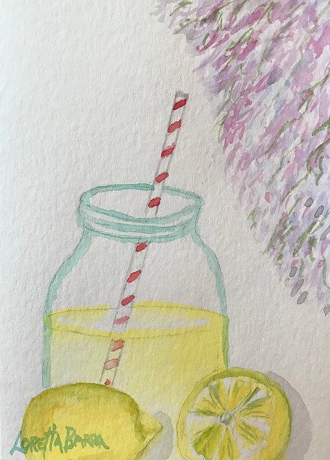 Lemonade and Lilacs