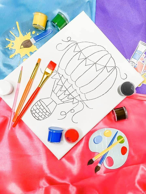 Hot Air Balloon Art Kit