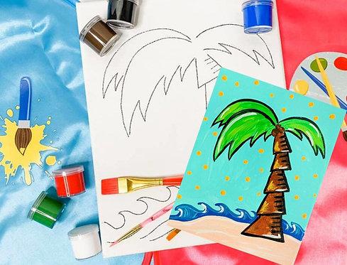 Palm Tree Art Kit