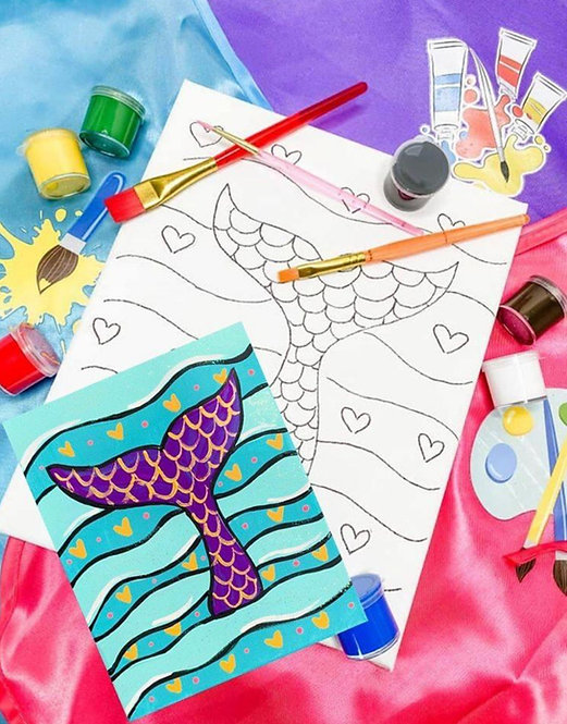 Mermaid Tail Art Kit
