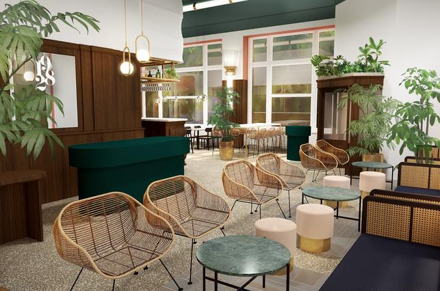 Accueil restaurant et hôtel