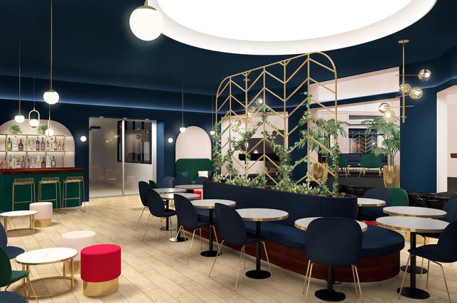 Salon du restaurant