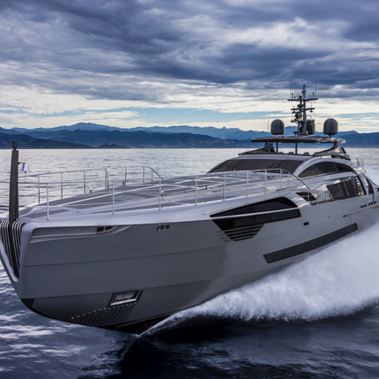 New Pershing 140 - The Biggest Thrill in Pershing's History