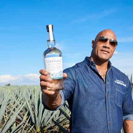 Dwayne Johnson - Teremana Small Batch Tequila
