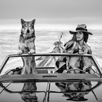 David Yarrow - Cindy Crawford
