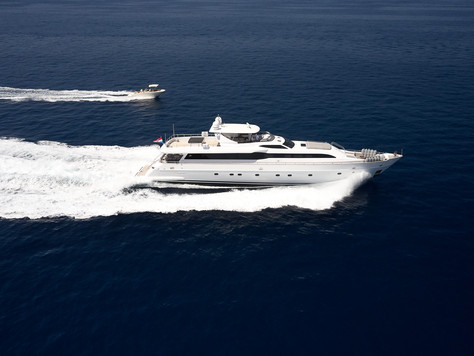 35M Princess Lona Yacht with Ocean Independence