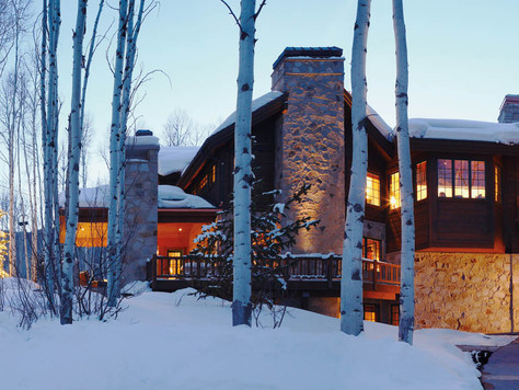 Slopeside Estate in an Exclusive Beaver Creek Gated Community