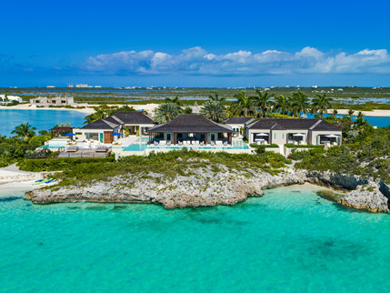 Spectacular $22MM Turtle Tail Estate in Turks & Caicos