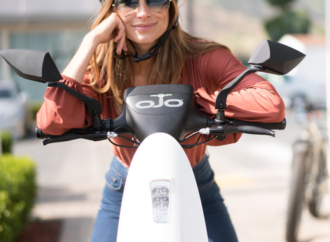 OjO Electric Scooter: Environmentally Friendly Transportation