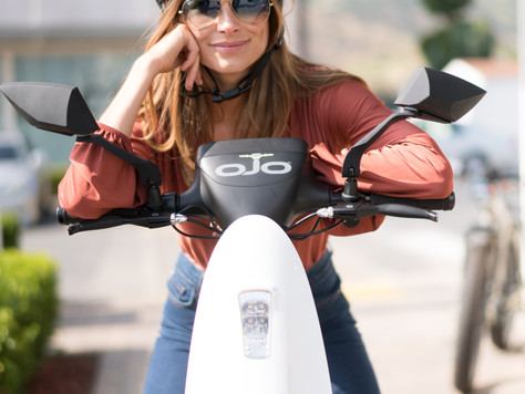 OjO Electric Scooter: Environmentally Friendly Transportation