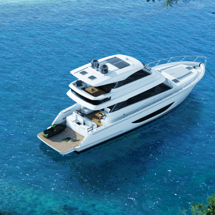 Maritimo S55 - Performance, Comfort, and Stability