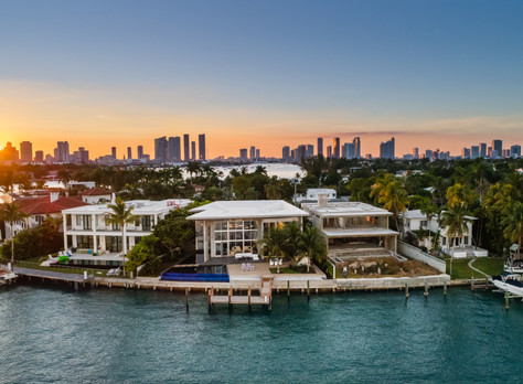 Venetian Islands Modern Miami Masterpiece