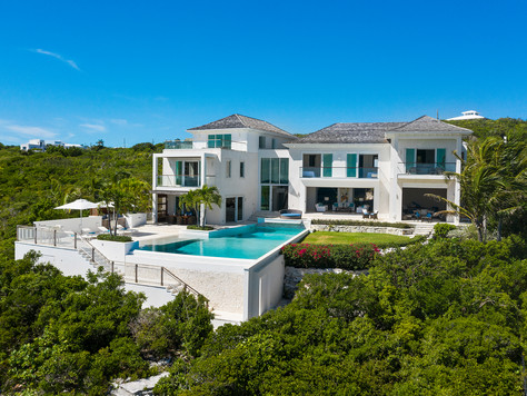 Oceanfront Turks and Caicos Masterpiece