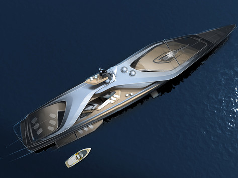 Oceanco, Pininfarina and Lateral have joined forces to recalibrate yacht design with KAIROS