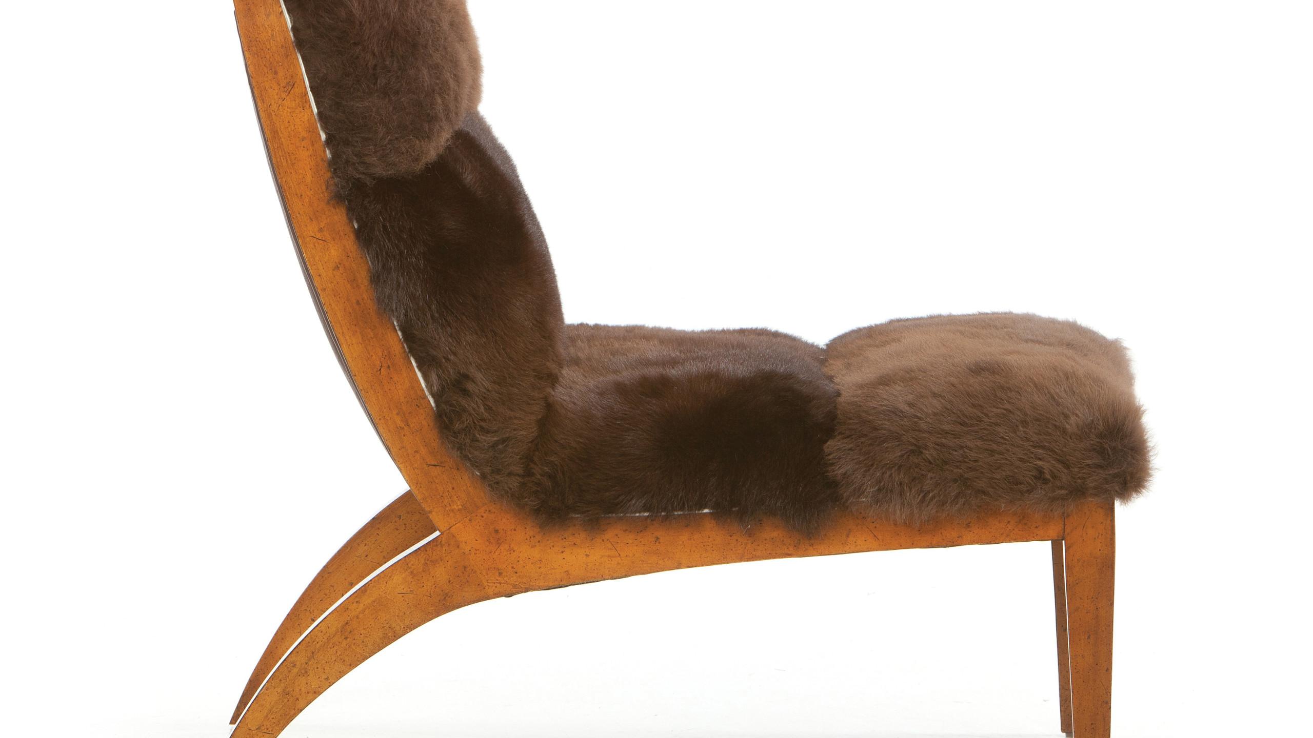 Buffalo Fur Chair