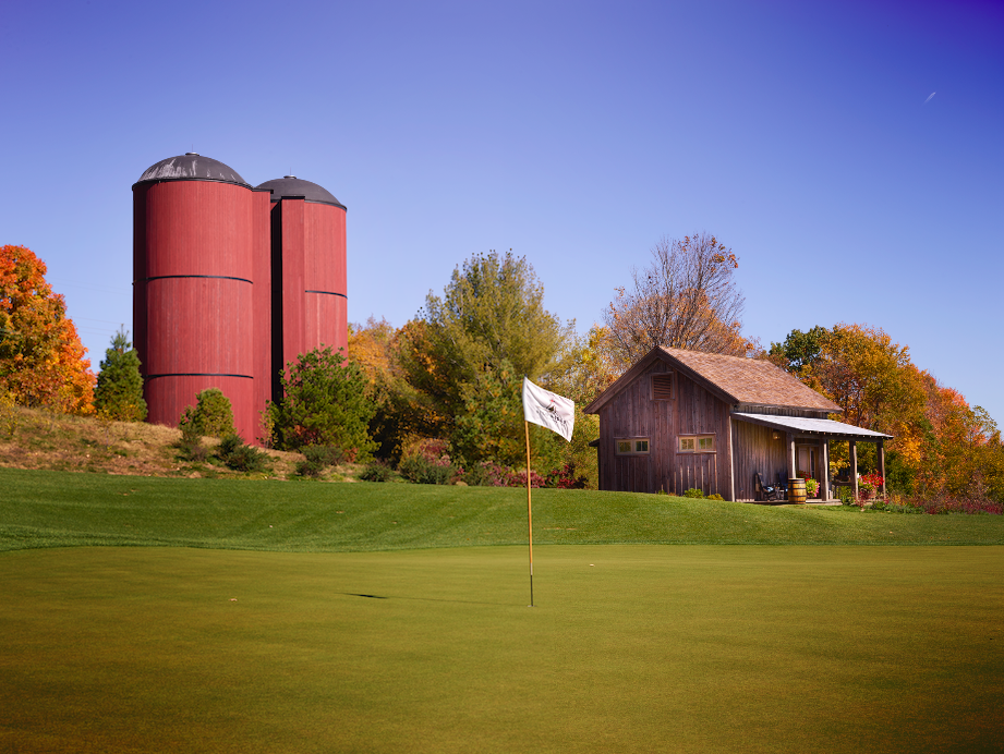 Silo Ridge Golf Green
