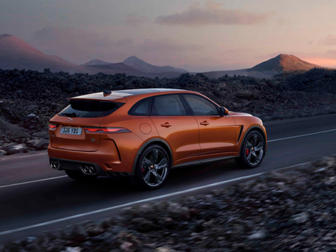 Jaguar F-PACE SVR - Thundering Performance & Luxury